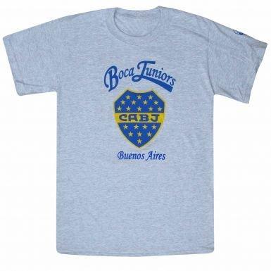 Boca Juniors Crest T-Shirt (Juniors Top Boca)