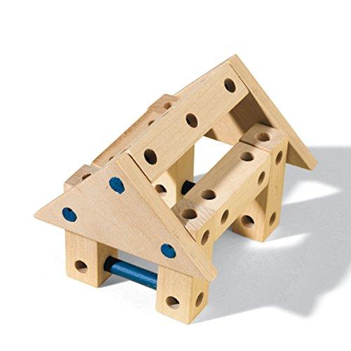 41ks90Gw3BL - SES Estuche de Juegos de carpintería Creative, Multicolor (00945)