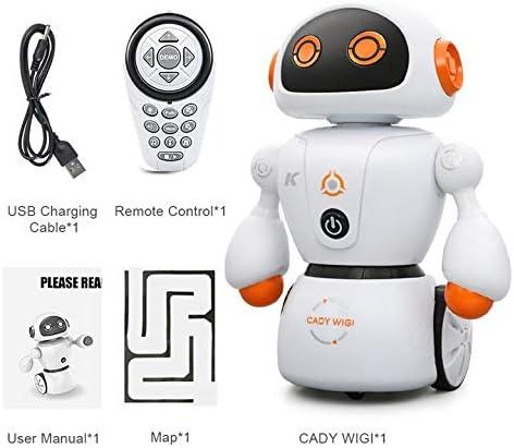 Kurphy Intelligent Cady Wigi JJRC R6 TélécomFemmede Programmable Danse USB RC Robot Jouet Éducatif Précoce pour  s | Belle Qualité