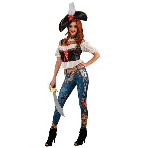 Pirate Booty Gr. L, STD, - Pirate Booty Für Erwachsenen Kostüm
