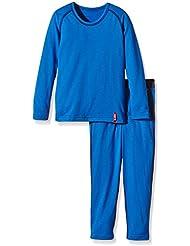 Löffler Niños Set KI largo Transtex Warm, infantil, color Azul - Azul, tamaño 17 años (176 cm)