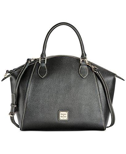 dooney-bourke-damen-henkeltasche-schwarz-schwarz