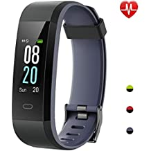 Willful Smartwatch Orologio Fitness Tracker Smart Watch Android iOS Cardiofrequenzimetro da Polso Uomo Donna Bambini Impermeabile IP68 Sportivo Contapassi Calorie Bici per iPhone Xiaomi Samsung Huawei