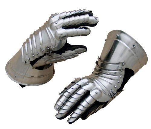 Gefingerte Hentzen, Ritter Handschuhe