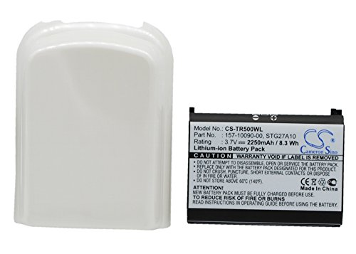 techgicoo 2250mAh/8.33Wh Akku kompatibel mit Palm Centro, Treo 685, Treo 690 -