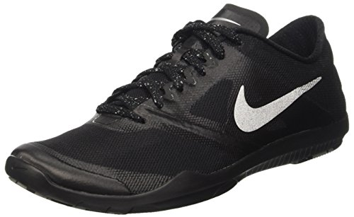 Nike Damen Wmns Studio Trainer 2 Turnschuhe, Black (Schwarz / Metallic Silver), 38 1/2 EU