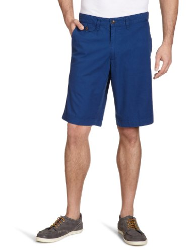 Dockers Herren Short 35263/ Dockers® Fashion Solid Short, Gr. 33, Blau (ESTATE BLUE 0002) (Blau Dockers Shorts)
