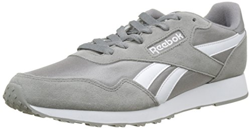Reebok Herren Royal Ultra Sneaker, Grau (Solid Grey/White), 42.5 EU Pie Pan Fall