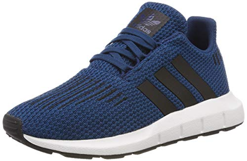adidas Unisex-Kinder Swift Run C Fitnessschuhe, Blau (Legend Marine/Core Black/FTWR White), 31.5 EU