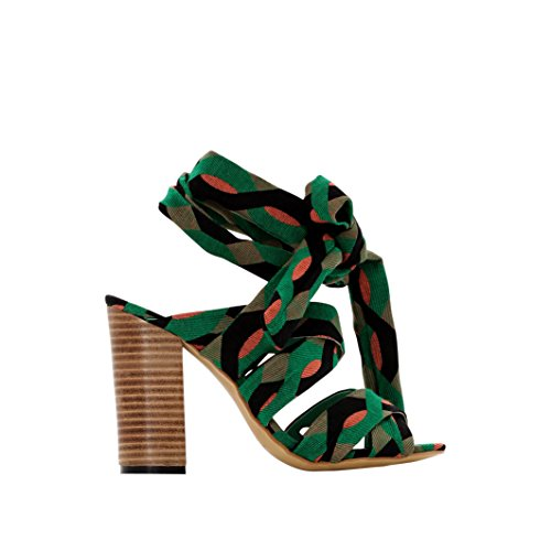 R Studio Donna Sandali Taglia 35 Verde