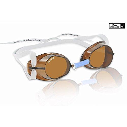 Malmsten Swedish Goggles Standard Gafas, Unisex, Gris