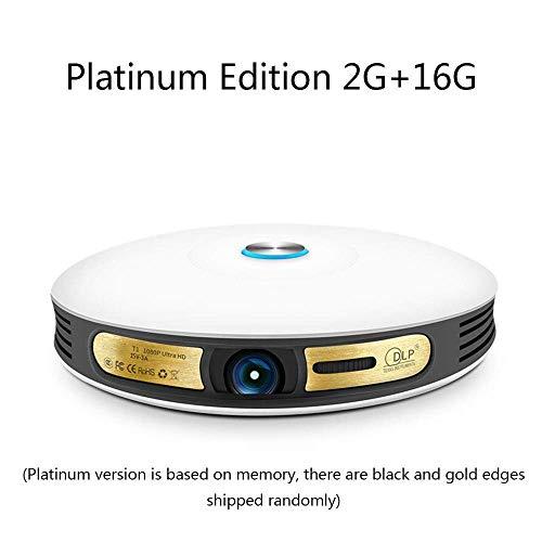 Jasbo Projektor, 8000 Lumen Unterstützung 1080 P HDMI/VGA/USB/Micro SD-Karte/AV-Eingang Tragbarer Heimkino-Projektor (2G + 16G),A - 2d-zu-3d-projektor