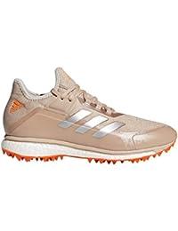 low priced dc605 e759d adidas Womens Fabela X Aqua Yellow Hockey Shoes - SS18