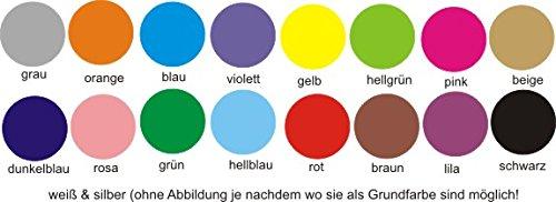 Anhänger fürs Halsband Herz personalisiert mit Rückseite m. z.B. Name Telefonnummer Adresse … zweiseitig bedruckt Hundemarke f. Hundehalsband Katzenhalsband Kette DogTag grau, orange, blau, lila, gelb, hellgrün, pink, beige, dunkelblau, rosa, grün, hellblau, rot, braun, violett, schwarz, weiß, silber - 2