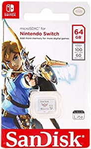 SanDisk microSDXC™ UHS-I card for Nintendo Switch - 64GB, 100MB/s read; 60MB/s write