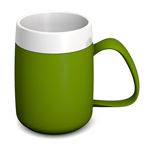 Ornamin Gobelet Isotherme 260 ml Vert (Modèle 206) / mug isotherme, gobelet double paroi, tasse à thé