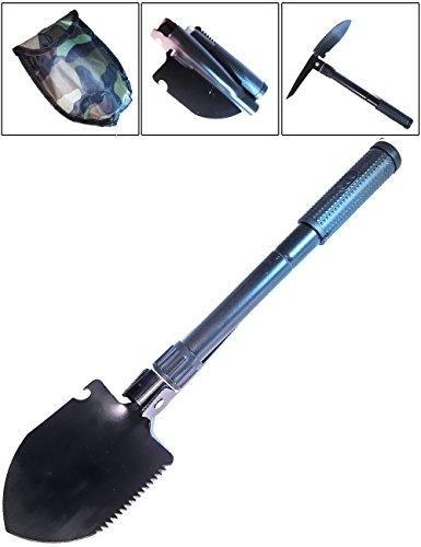 Outdoor saxx® – Étui de bêche | avec pioche Scie Boussole de poche de transport | 41 cm | Tentes, sondeln, camping, voiture, hiver, Outdoor