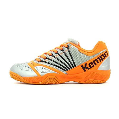 Kempa Thunderstorm, Chaussures de sports en salle homme Argenté
