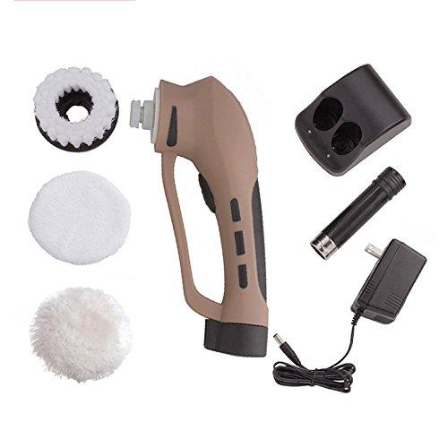Mini Multifuncional Zapato Eléctrico Cepillo De Limpieza Kit De Brillo De  Zapatos Para Cuero De Gamuza 65d6e1792e5f