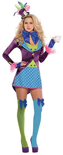 Karnevalsbud - Erwachsene Fashion Candy Girl Kostüm , Mehrfarbig, Größe (Schneewittchen Kostüm Kids Halloween Für)