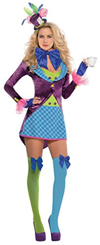 hsene Fashion Candy Girl Kostüm , Mehrfarbig, Größe M (Tiana Kostüm Erwachsene)