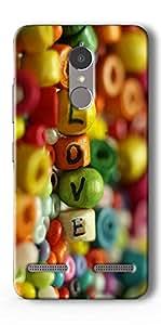 SEI HEI KI Designer Back Cover For Lenovo K6 Power - Multicolor