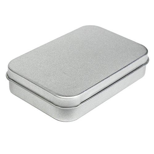 Metalldose Fall Schnupftabak Boxcontainer Visitenkartenhalter Speicher