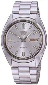 Seiko Hommes SNXS73 Seiko 5 Automatique Argent montre de ton