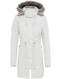 North Face Zaneck Parka - Chaqueta para Mujer, Blanco (Vintage White), M