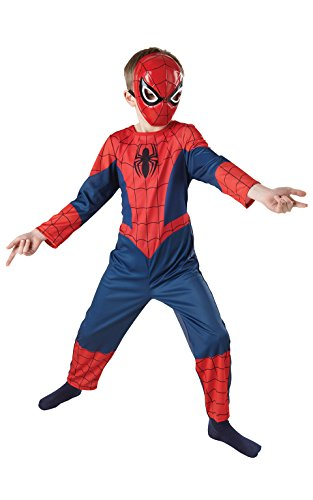 Rubie 's Offizielles Ultimate Spiderman Classic, Kind Kostüm–Kleinkind