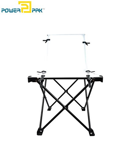 Powerpak Studio Photography Shooting Table - Foldable Portable - 60cm x 130cm / 24