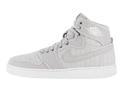 Nike Aj1 Ko High Og, espadrilles de basket-ball homme Plateado (pure platinum/white-metallic silver)