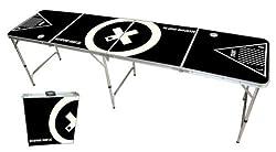 Beer Pong Tisch - Audio Table Design - Beer Pong Table inkl. Ballhalter und 6 Bälle