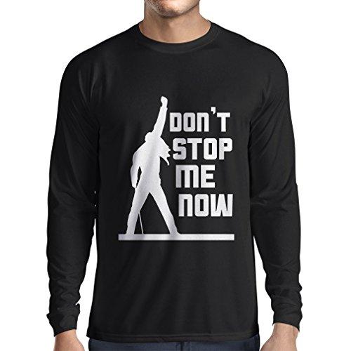 n4382l-t-shirt-mit-langen-armeln-dont-stop-me-now-small-schwarz-mehrfarben
