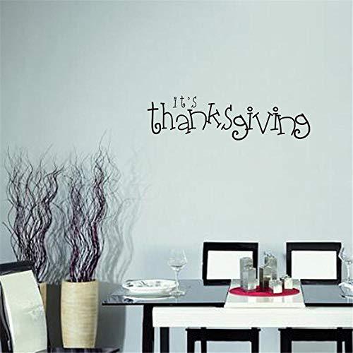 Danksagung Geschnitzte Wohnzimmer Schlafzimmer Wandsticker Europäische und amerikanische Gerüchte Papier Englisch