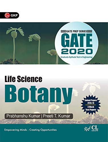 GATE 2020 - Guide - Life Science Botany