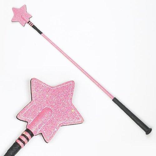 Elico star Cravache d'équitation étoile avec strass détenteur