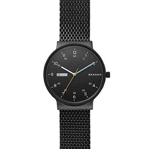 Skagen Reloj Analógico para Hombre de Cuarzo con Correa en Acero Inoxidable SKW6456
