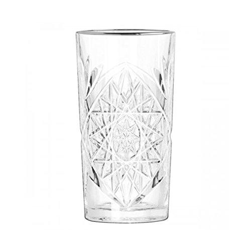 APS - Hobstar Cooler - Longdrinkglas - Cocktailglas - Softdrinkglas - Kristallglas 473ml