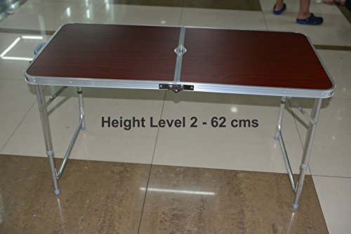 Portable Folding Aluminium Table for Home, Office, Outdoors, Study, Picnic,...