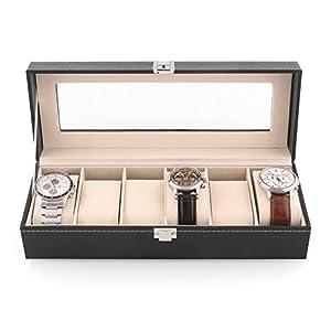 Amzdeal - Caja para relojes por Aukey