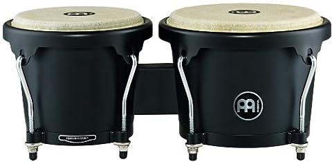 Meinl Percussion HB100PBK-M Set de bongos en bois série Headliner Designer Noir Ø 17,15 cm (6,75