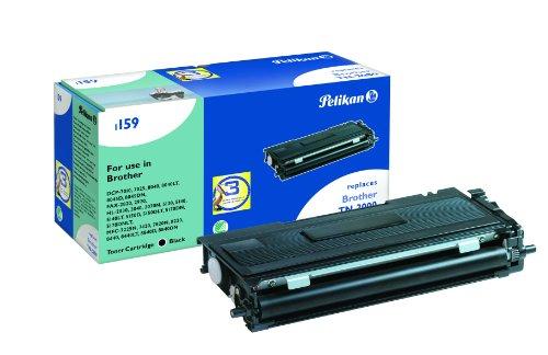 Pelikan ersetzt Brother TN-2000 (passend für Drucker-Serien, DCP-7010 7020 7025, Fax-2820 2825 2920, HL-2020 2030 2032 2040 2070N MFC-7220 7240 7290 7420 7820, 2975 Seiten) schwarz -