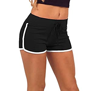 Avaatar Women's Cotton Yoga Shorts