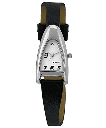 Maxima Attivo Analog White Dial Women's Watch 22223LMLI image
