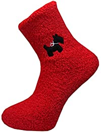 **Great Value** Ladies 1pk Fleecey Character Socks