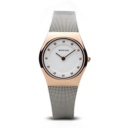 BERING Damen-Armbanduhr Analog Quarz Edelstahl 11927-064