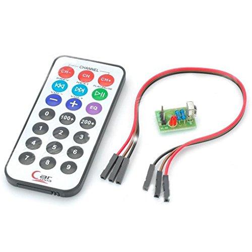 Censhaorme Encoding IR RC-Modul + HX1838 + N Empfänger Set für Raspberry Pi - 4 Unzen-raspberry