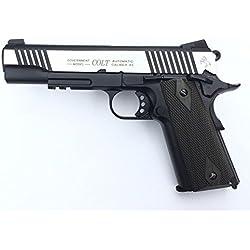 Cybergun Colt 1911 Rail Gun 2 tons Co2 Réplique puissance 0.5 joules