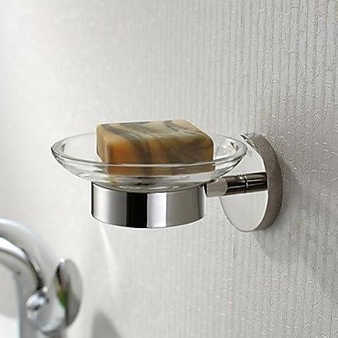 Acero inoxidable pulido brillante acabado platos Soap